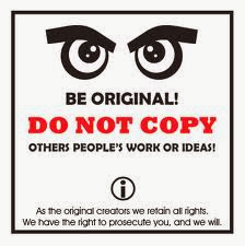 Do Not Copy or Reproduce Original Content Without Express Permission of Blog Author
