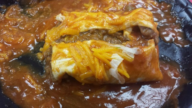 hardees burrito