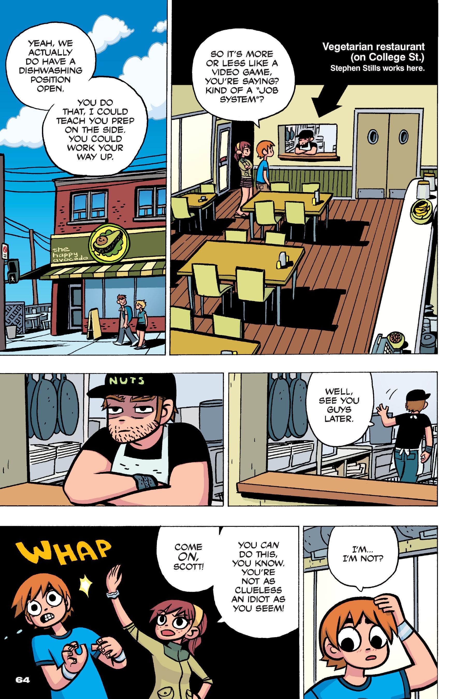 Read online Scott Pilgrim comic -  Issue #4 - 63