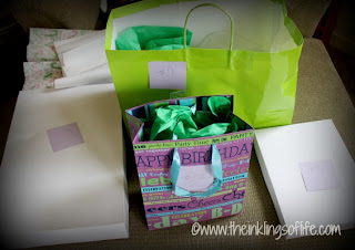 Hidden Prizes for a Tween Birthday Party Mystery Auction
