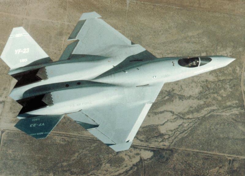 Northrop / McDonnell Douglas YF-23 Black Widow II