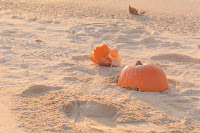 Shannon Hager Photography, Pumpkins on the Beach, Okinawa