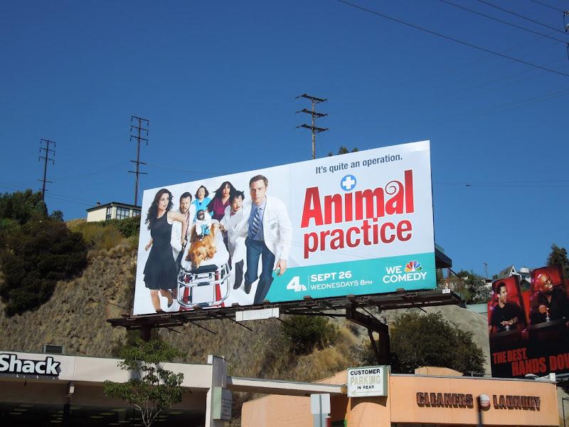 Animal Practice sitcom billboard