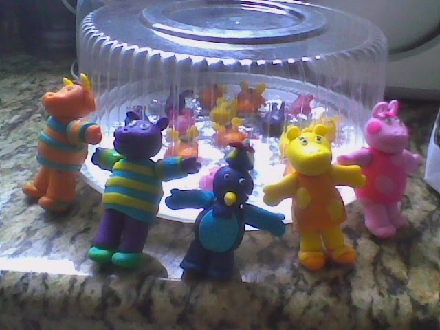 Modelados backyardigans