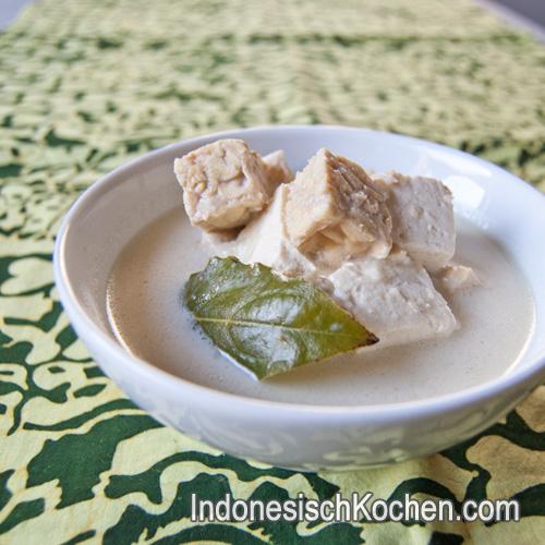 Tofu Tempeh Kokosmilch indonesisch kochen