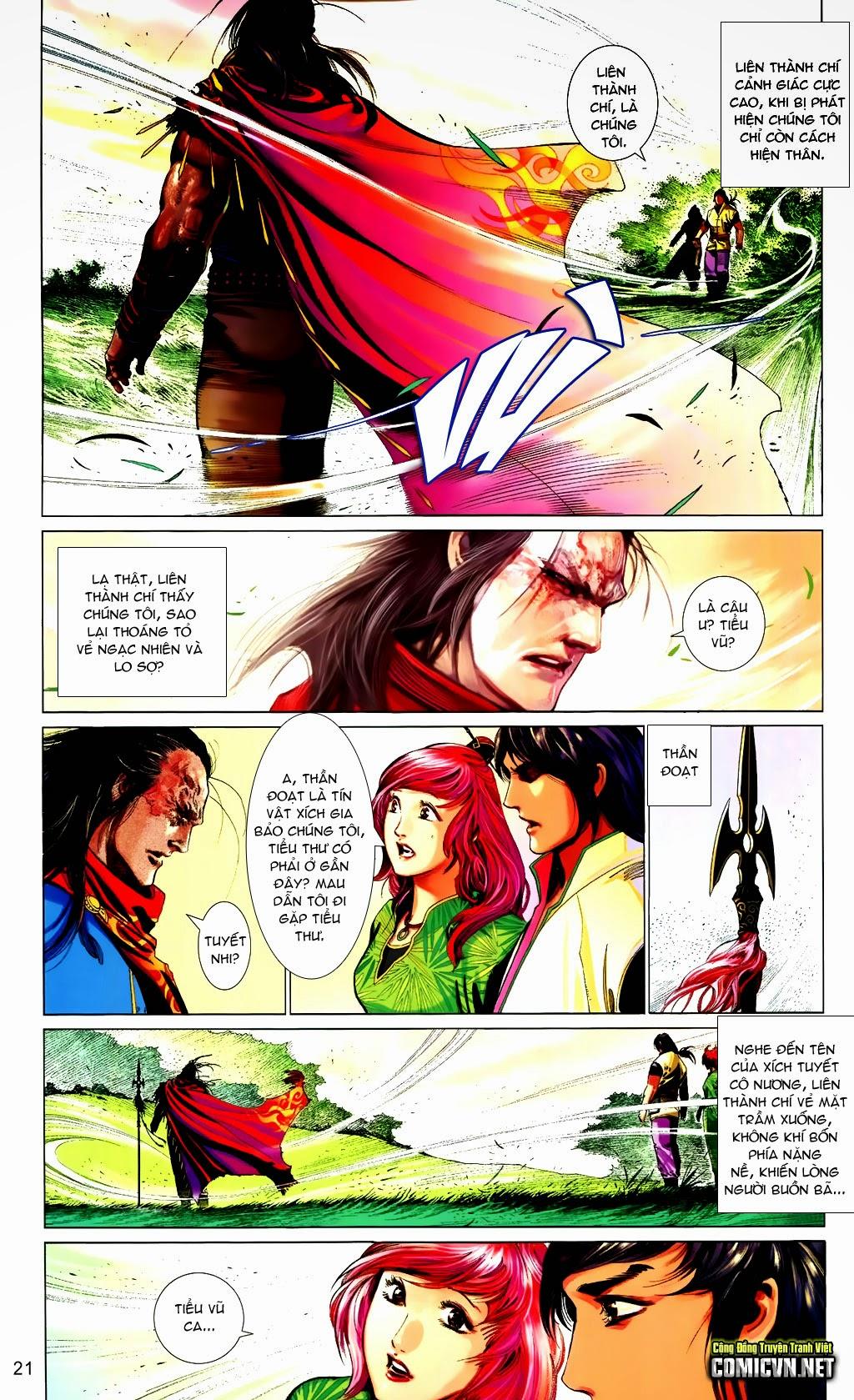 Phong Vân Chap 663 - Trang 21