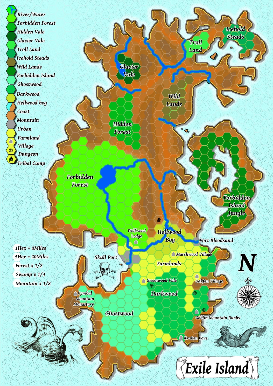 the pcs could be on a mission for the ruler of one of the coastal cities exploration game the pcs could be looking for god learner ruins in order to