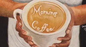 "COME GET SOME ""MORNING COFFEE""!"