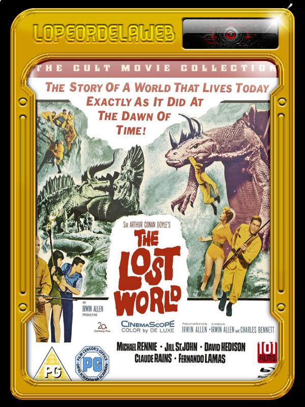 Sir Arthur Conan Doyle: El Mundo Perdido (1960) 720p-Dual