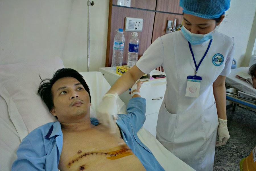 Bệnh viện Đại học Y dược-Hoàng Anh Gia Lai: Cứu sống bệnh nhân bị đâm thủng tim
