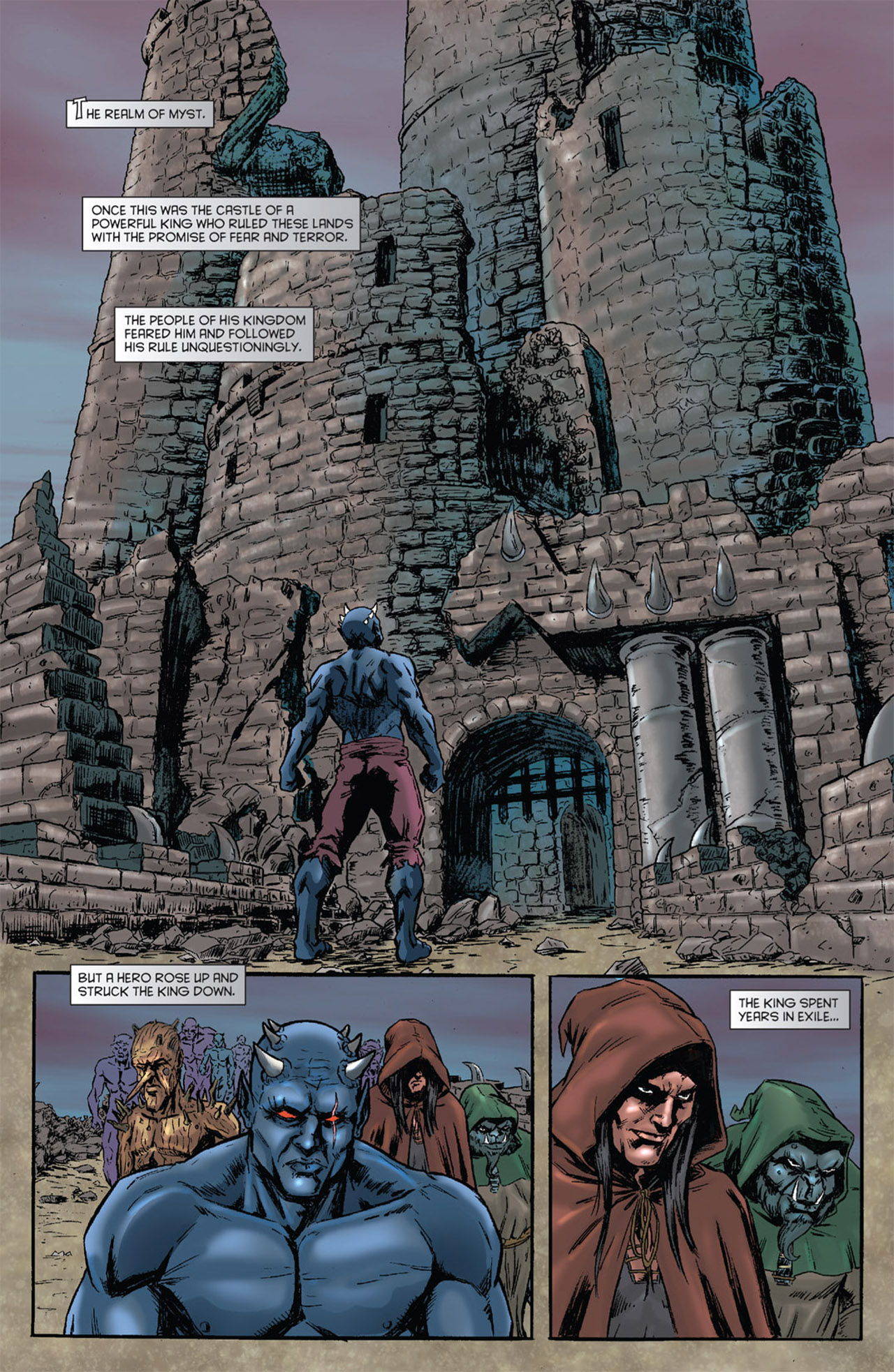 Grimm Fairy Tales (2005) Issue #51 #54 - English 3