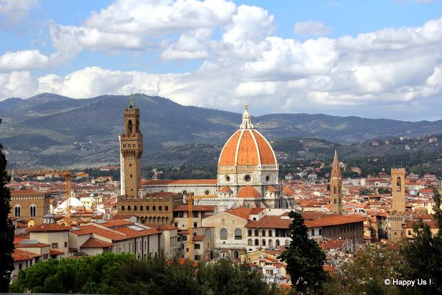 Jardins Boboli - Vue sur Florence