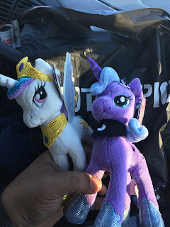 MLP 6,5 inch Princess Celestia and Princess Luna Aurora Plush at Hot Topic