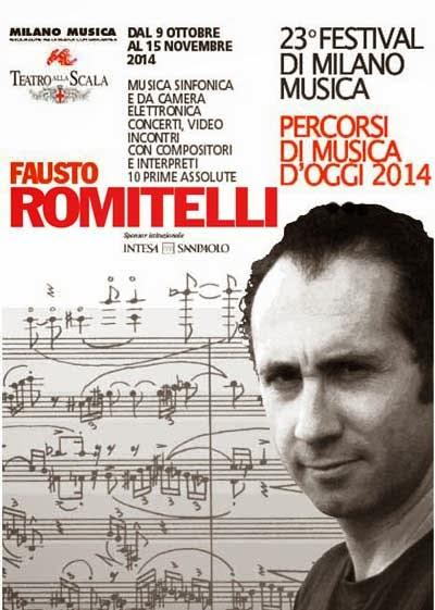 Dal 9 ottobre al 15 novembre. Festival di Milano Musica, kermesse di musica sinfonica e da camera