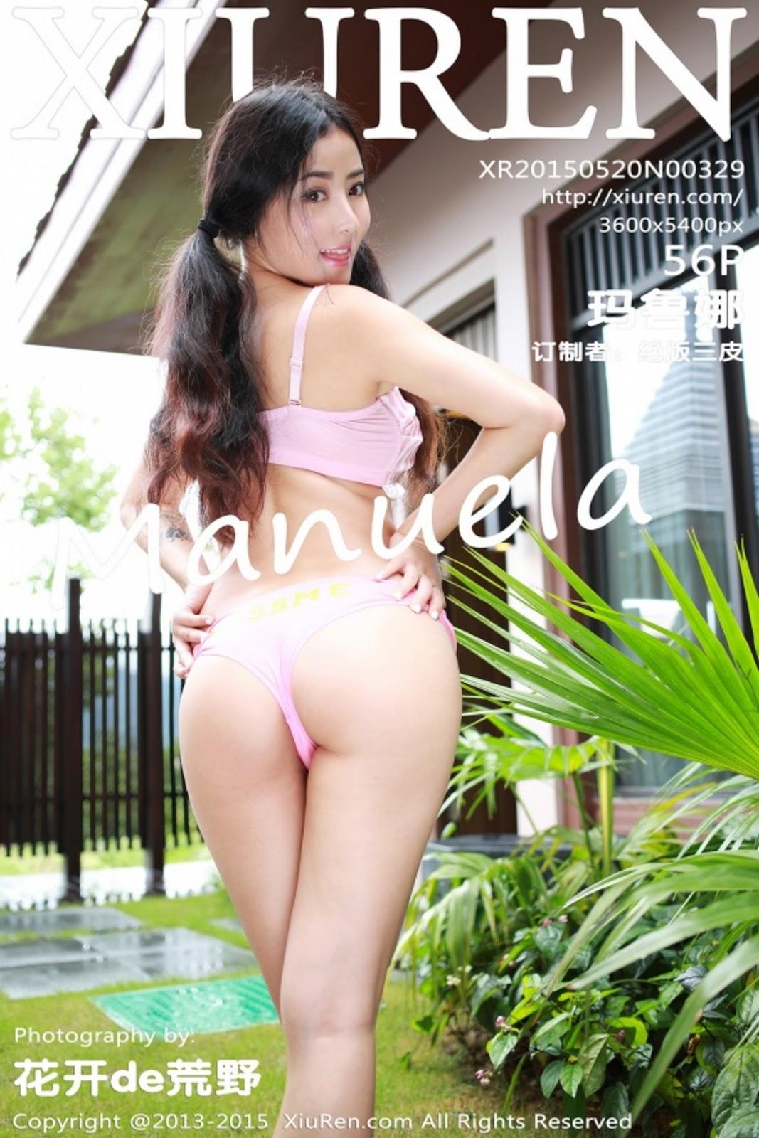 cover329 - Hot Photo XIUREN NO.329 Nude Girl