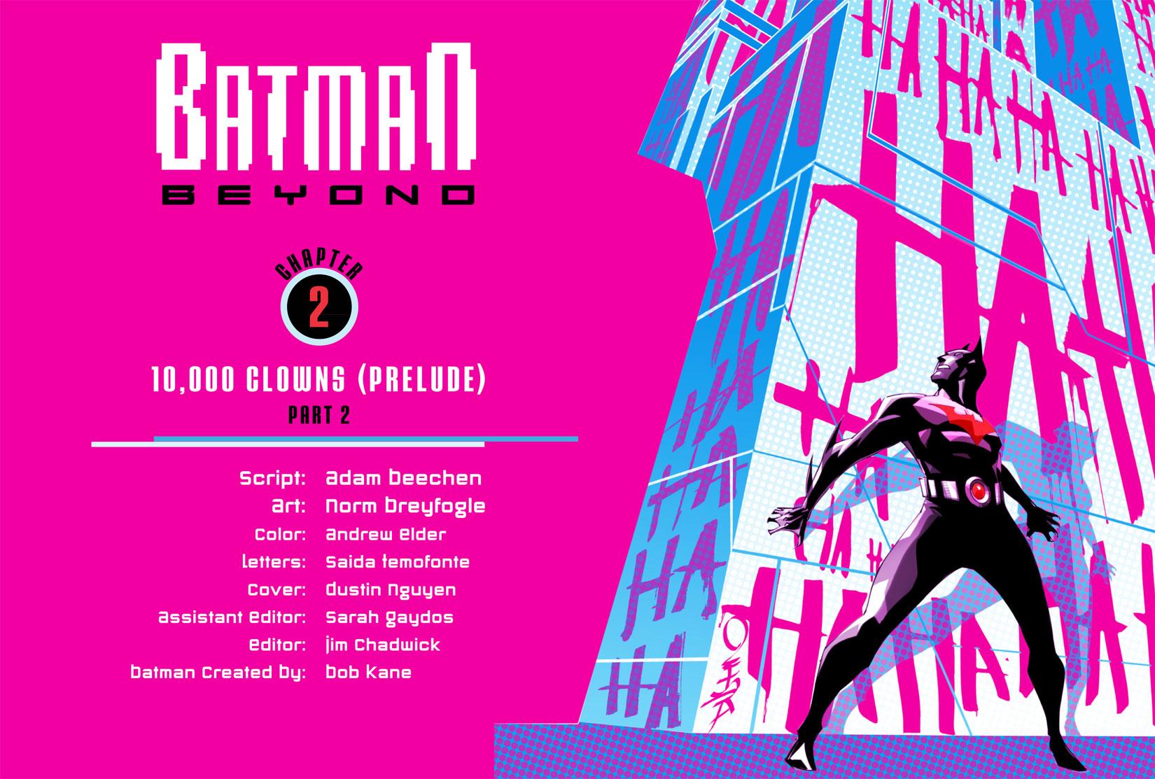 Batman Beyond (2012) Issue #2 #2 - English 2