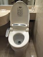 Korean super toilet