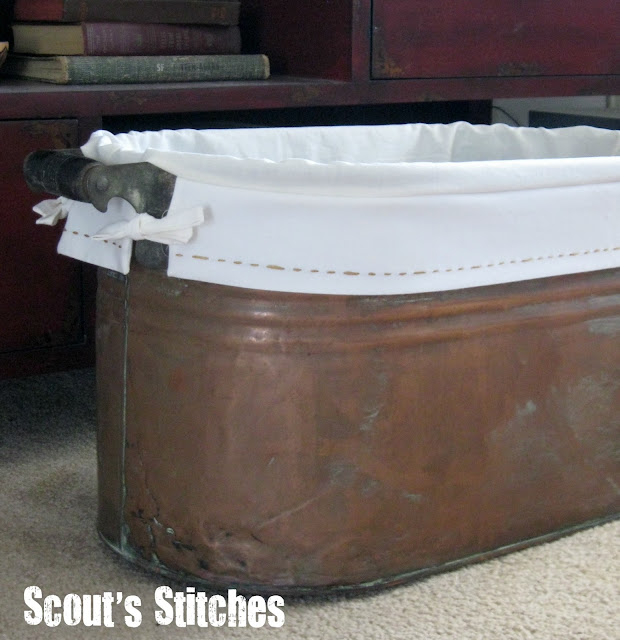 All the joy copper tub lining tutorial for Tub liner