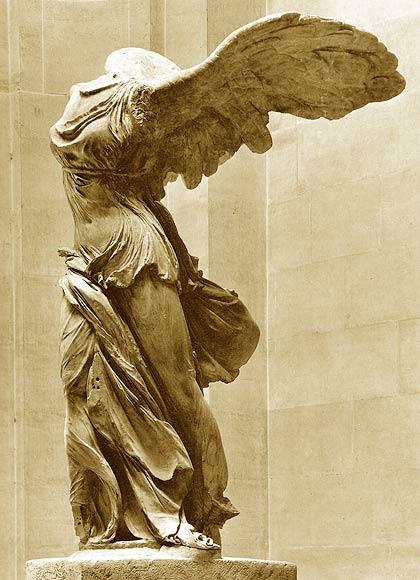 Winged Victory Of Samothrace Artgazing - 52 Weeks o...