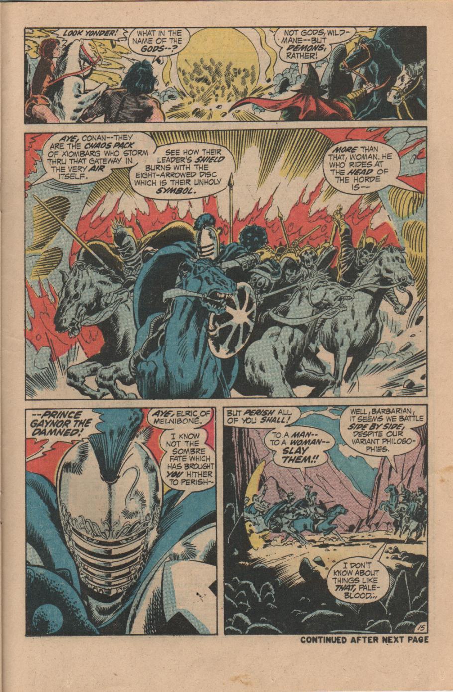 Conan the Barbarian (1970) Issue #14 #26 - English 16