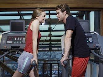 online dating gym