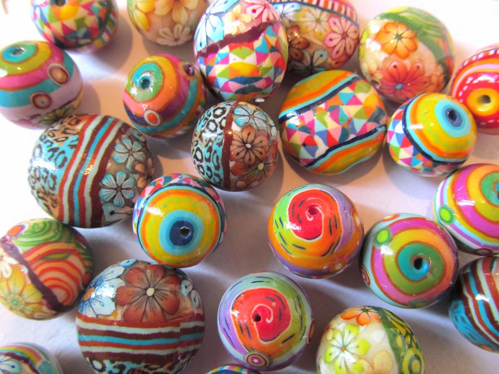 חימר פולימרי, חרוזי פימו,חרוזי חימר פולימרי,גלילי פימו,גלילי חימר פולימרי fimo beads,polymer clay beads
