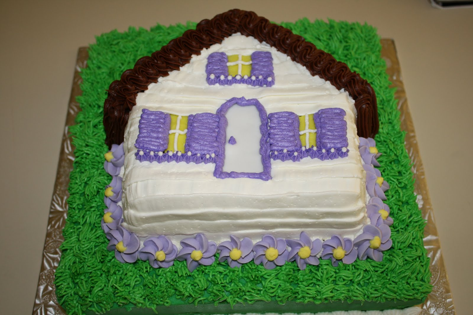 Cake Designs For Housewarming : CC s Cake Decorating: Housewarming cake