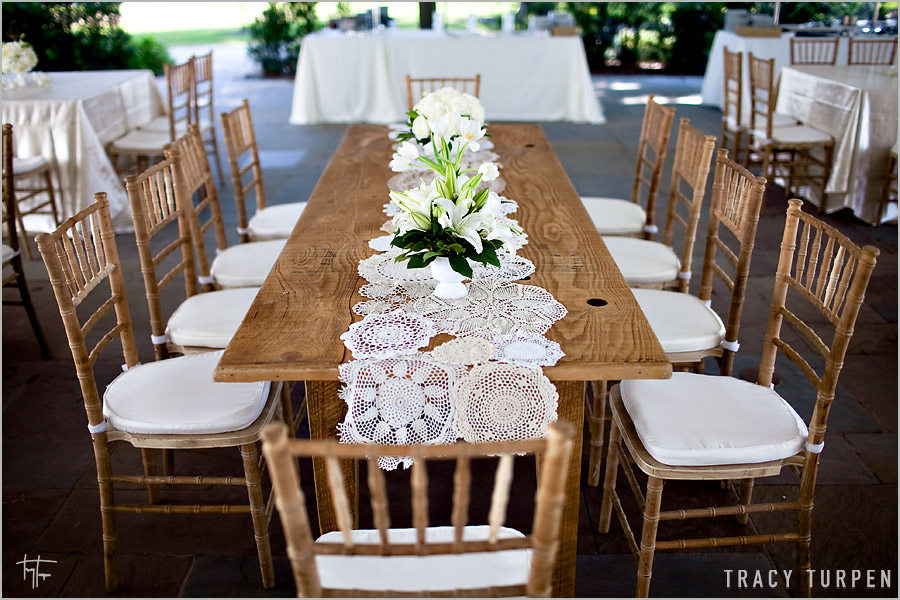 wedding pinterest runners Ruffled from Vintage: La Table Fleur Lace table Runners Blog Doily
