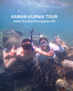 wisatawan tahun baru Karimunjawa