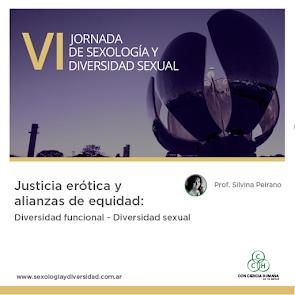 VI JORNADA DE SEXOLOGÍA Y DIVERSIDAD SEXUAL