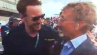 Michael Fassbender and Eddie Jordan