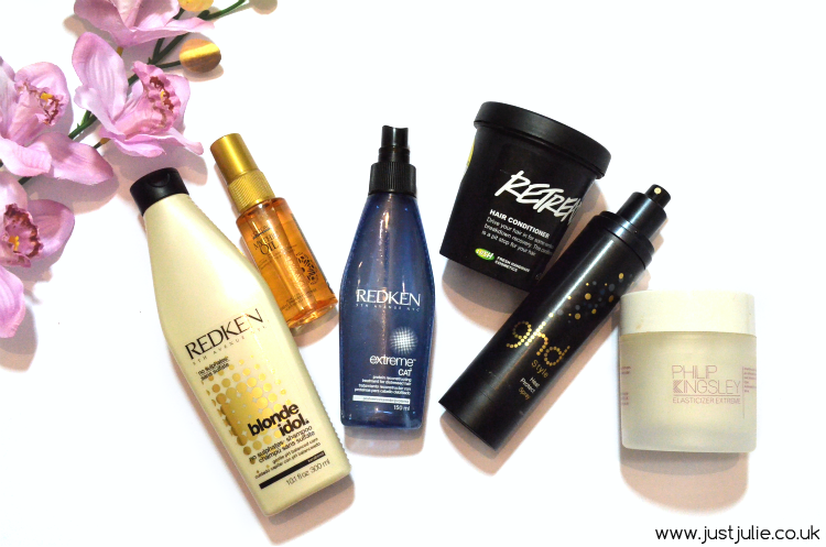 My Hair Care Routine for Coloured or Damaged Hair