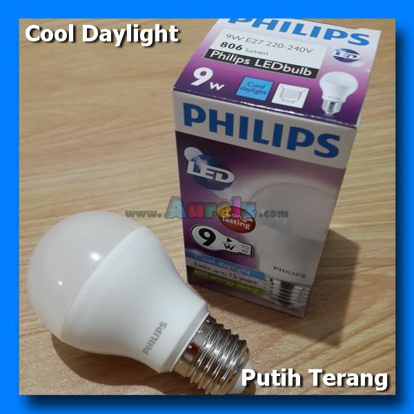 lampu led philips 9 watt cool daylight