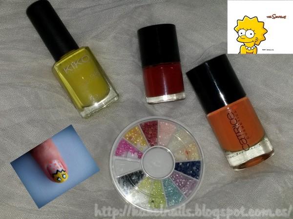 Nail art Lisa