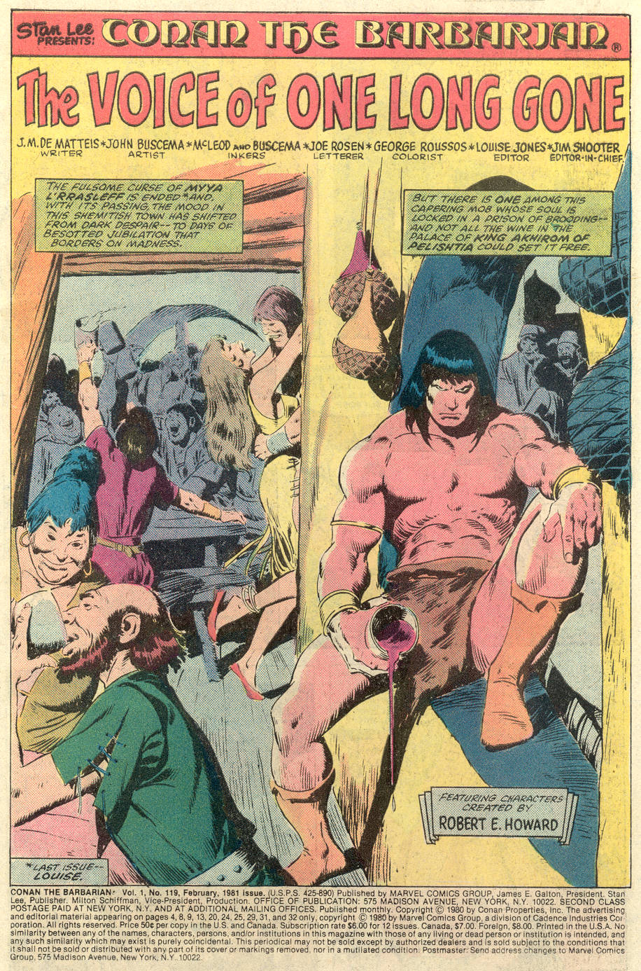 Conan the Barbarian (1970) Issue #119 #131 - English 2