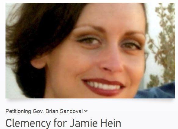 Petitioning Gov. Brian Sandoval  Clemency for Jamie Hein