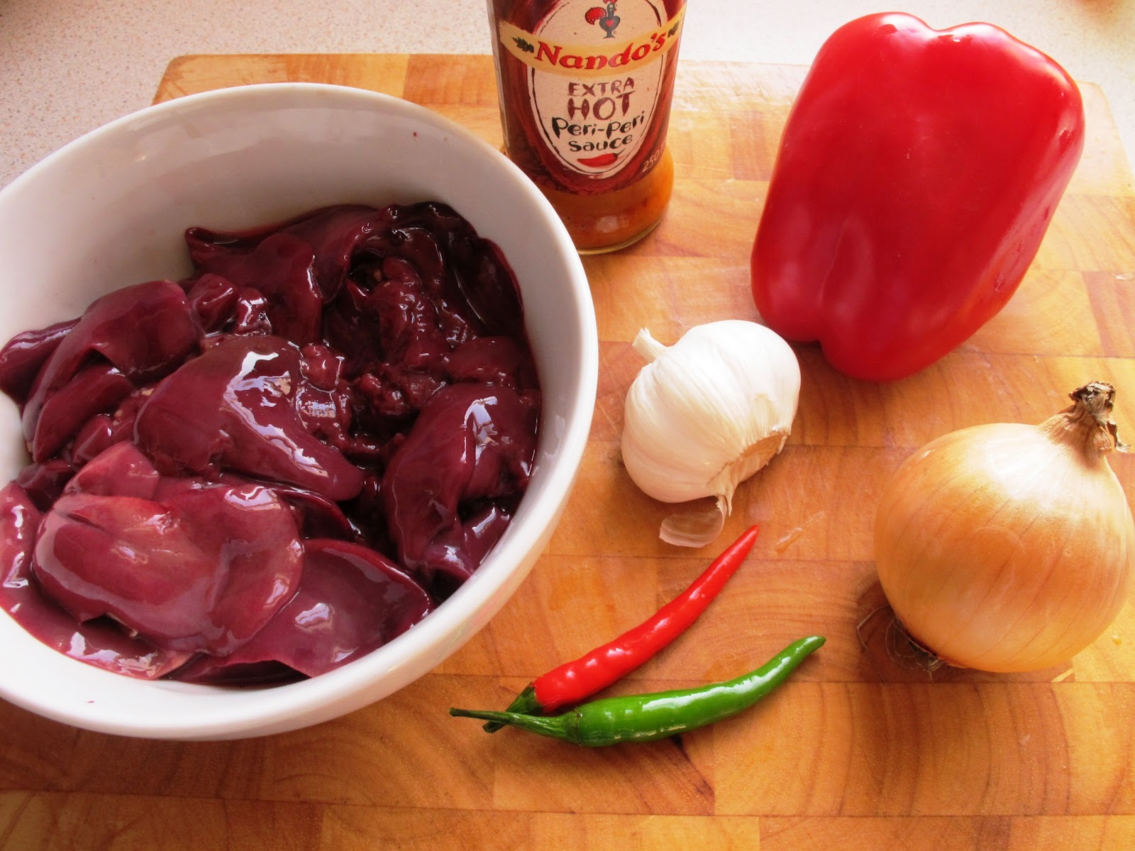 Chilli Pepper Travels: Peri Peri Chicken Livers