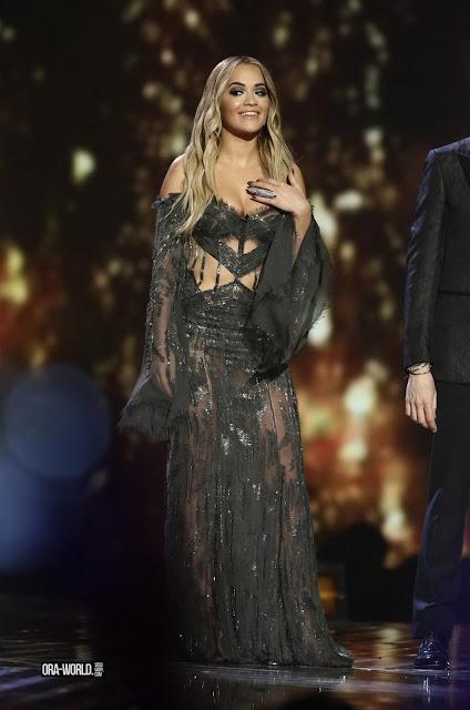 Actress, Singer, @ Rita Ora - X Factor Series Finale in London