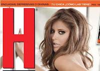 Foto Vanessa Claudio Revista H para Hombres Julio 2011
