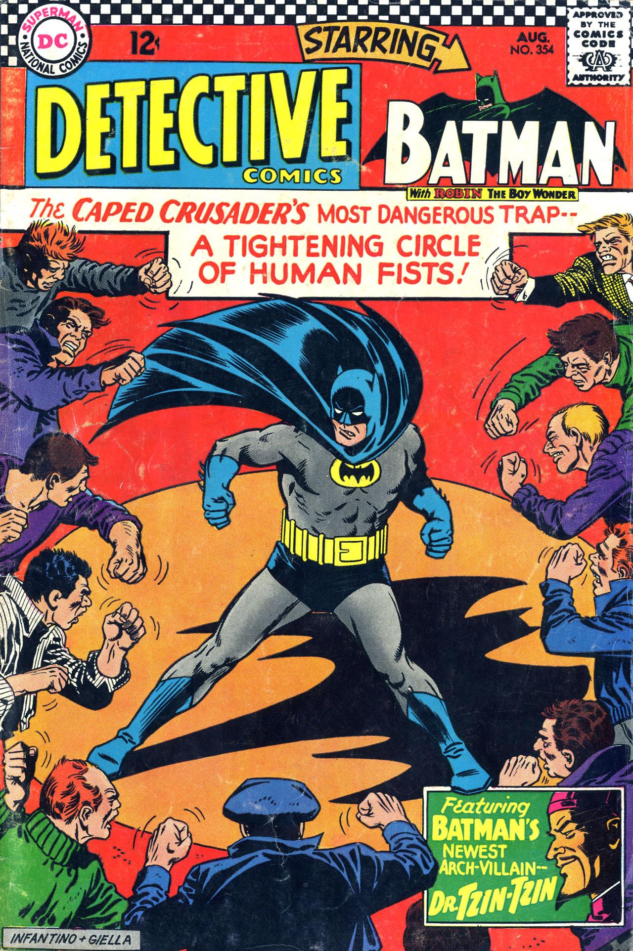 Detective Comics (1937) 354 Page 1