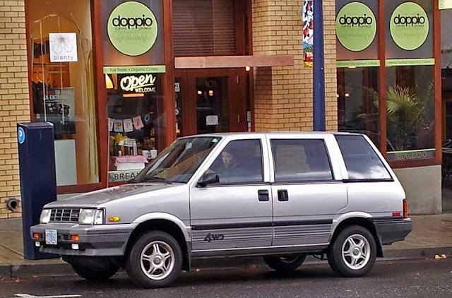 Nissan Stanza Wagon - Subcompact Culture