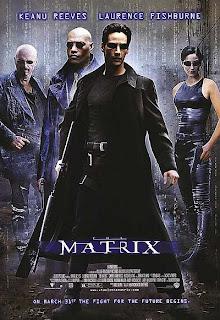 IMAGEM: Reprodução de cartaz, uma chamada para o filme Matrix