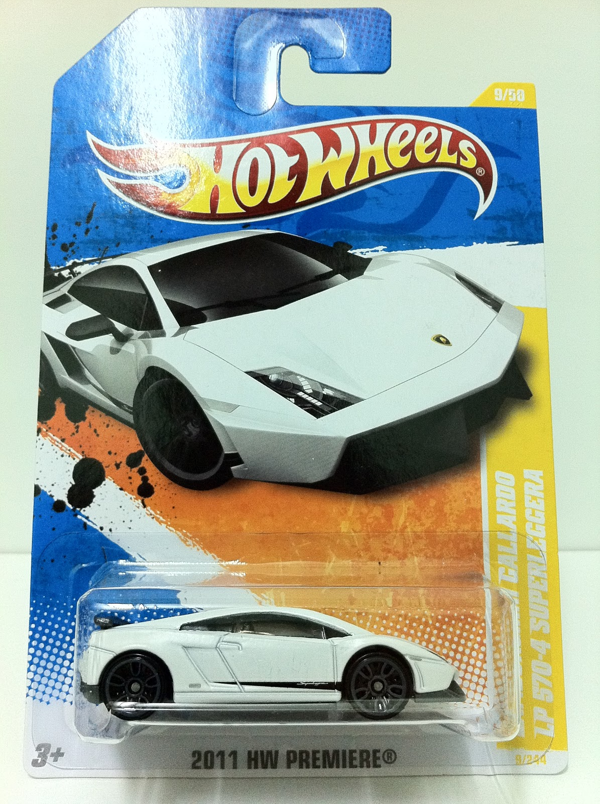 hot wheels lamborghini gallardo lp 570 4 superleggera white