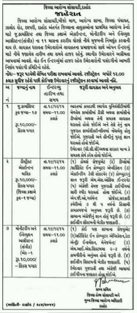 InfoGuru24.com...District Health Society, Dahod Recruitment 2015