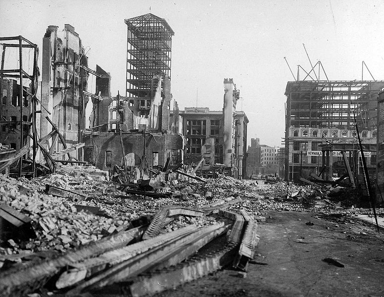 Historical Saga Novels The San Francisco Earthquake Of 1906