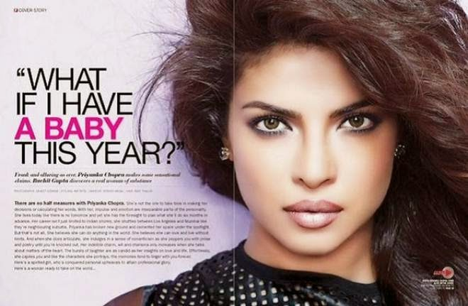Priyanka Chopra Sexy Photo Shoot for Filmfare Photos