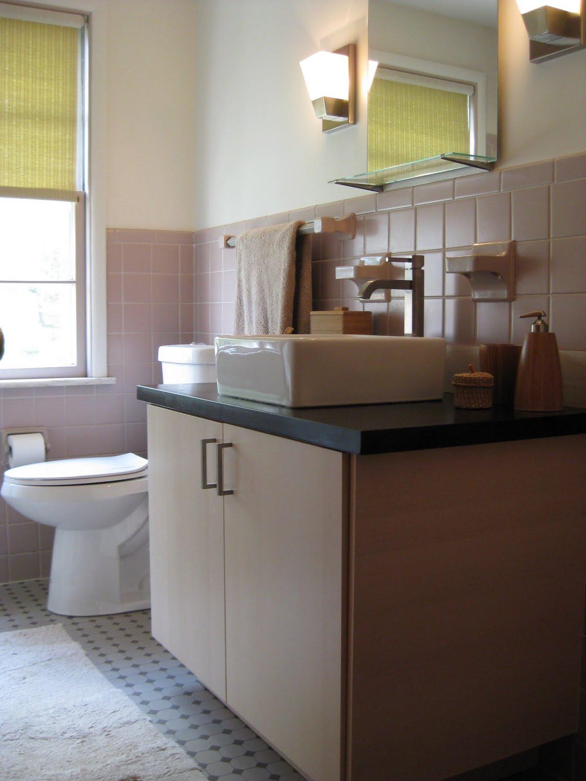 1950 39 s bathroom revamp with akurum ikea hackers ikea