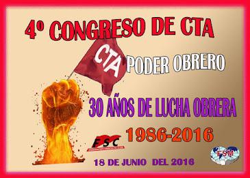 IV Congreso Regional de la Coordinadora de Trabajadores de Andalucía del próximo día 18 de junio de