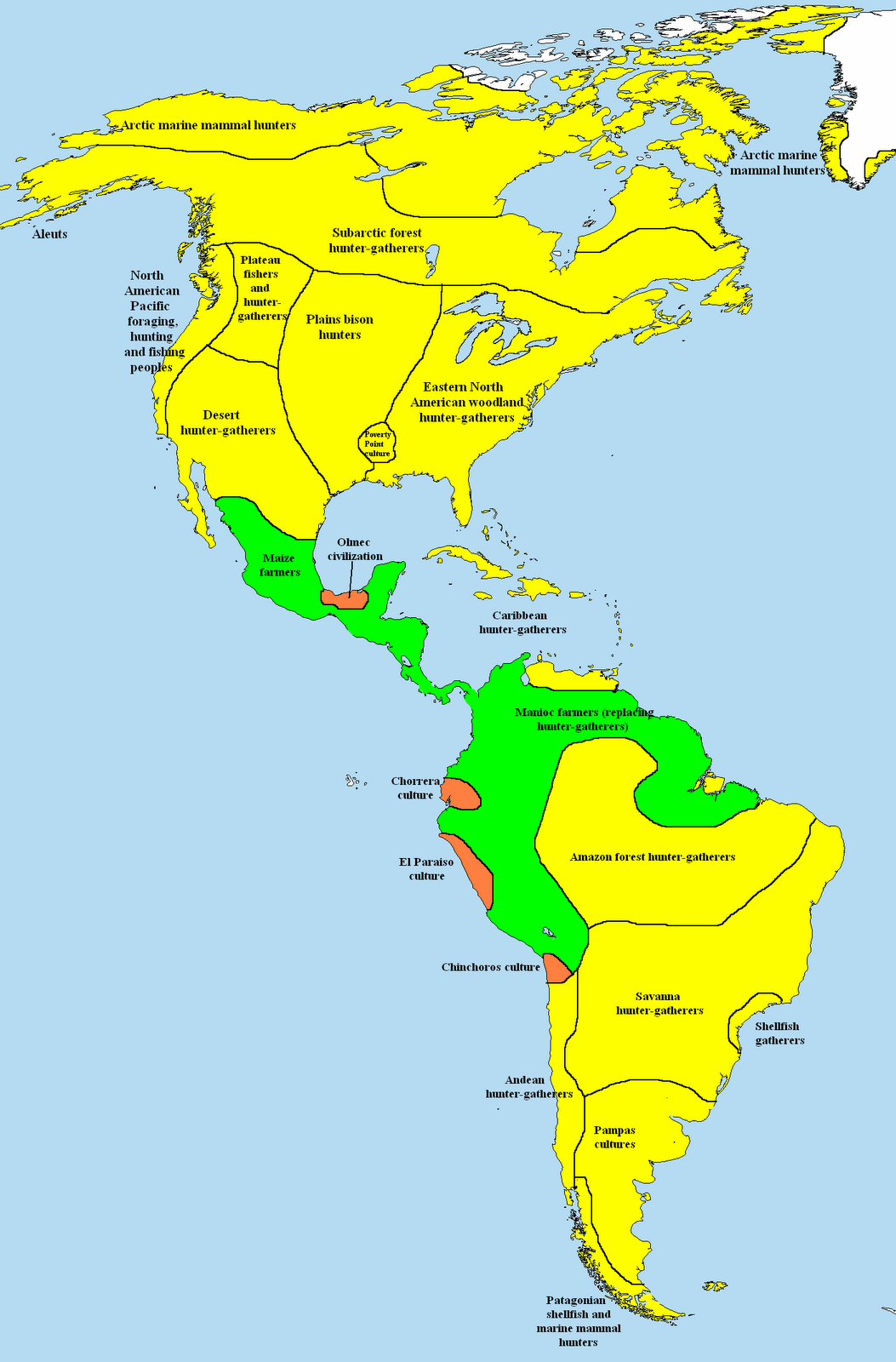 Mapa Precolombino De America - Mapa de united states