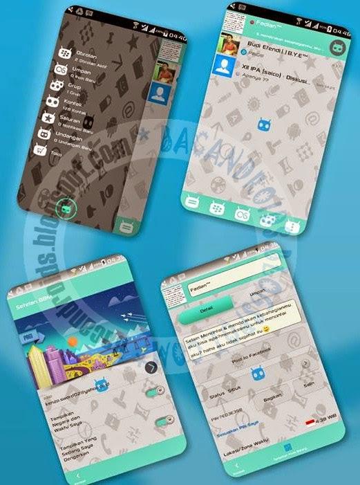 download BBM Mod Cyanogen Messenger
